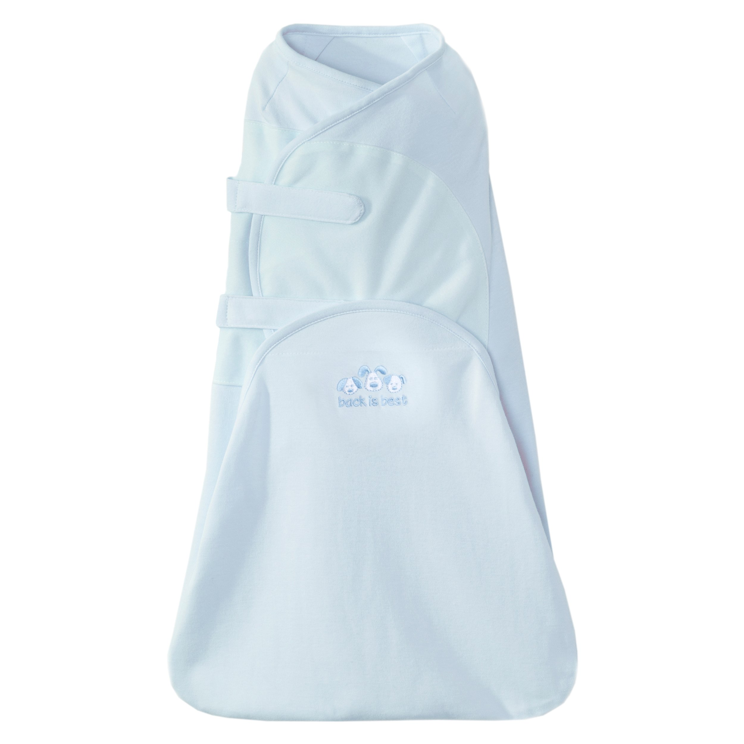 Halo Swaddlesure Adjustable Swaddling Pouch Blue Small 8