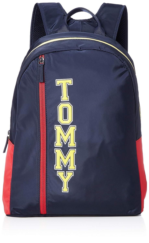 (トミーヒルフィガー) TOMMY HILFIGER バックパック AU0AU00418 Free ネイビー B07PPG5LS4