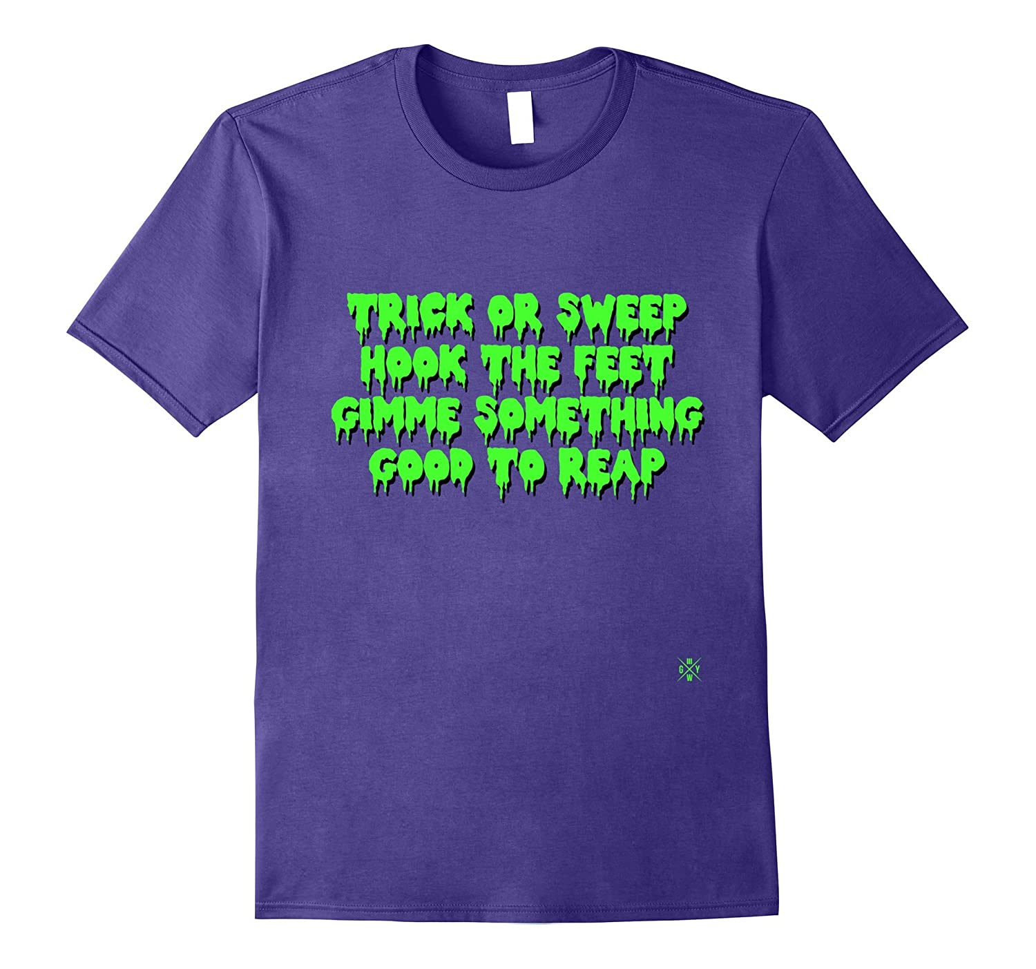Jiu Jitsu T-shirts : Halloween Trick or Sweep, Hook the Feet-FL