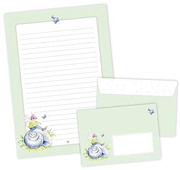 Juego de papel de cartas: 22 hojas papel de carta A4 + 11 ...