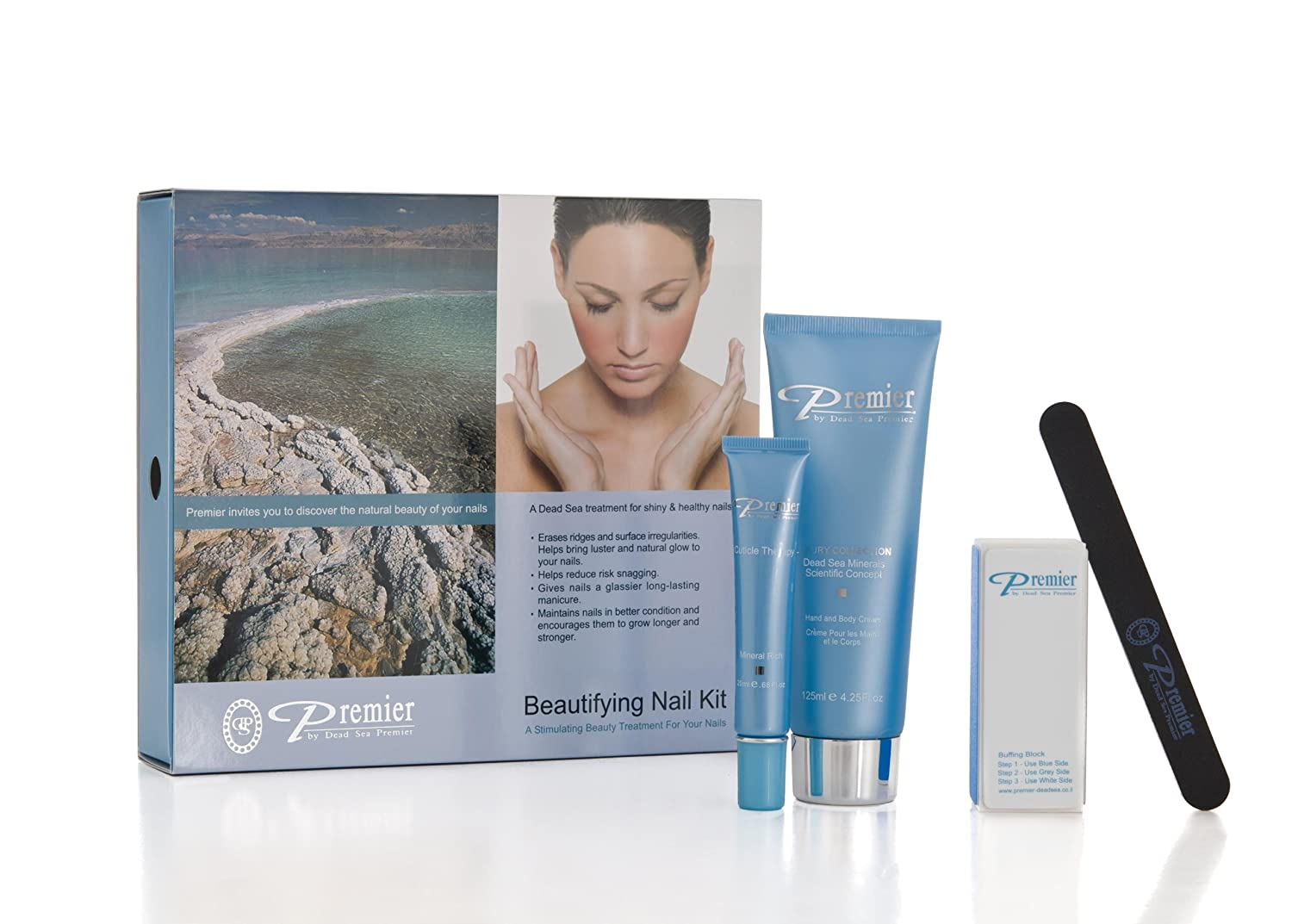 Buy Premier Dead Sea Nail Kit - With Hand & Body Cream Online at Low ...