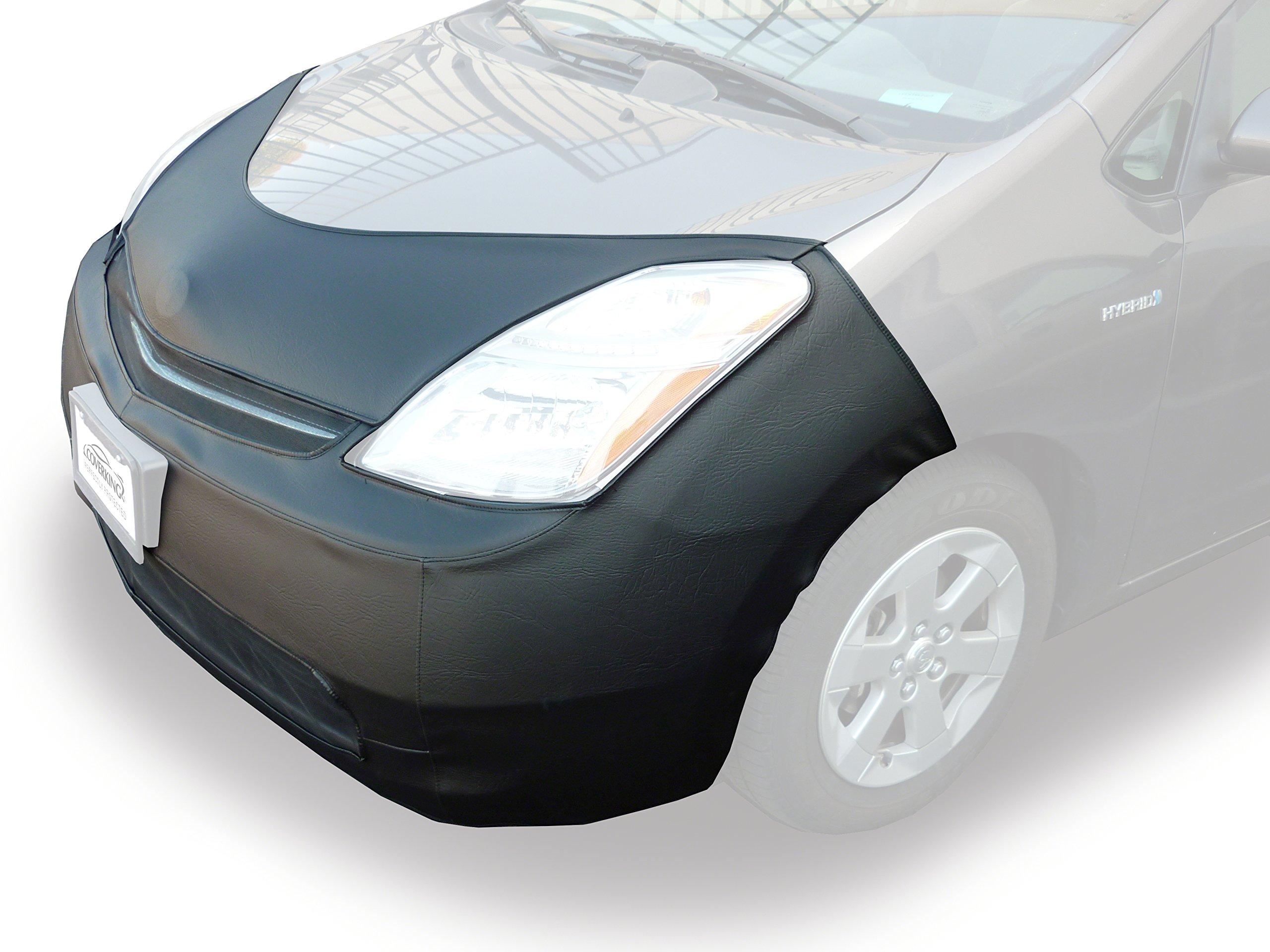Velocitex Plus Coverking Custom Fit Front End Mask for Select Chevrolet Camaro Models Black