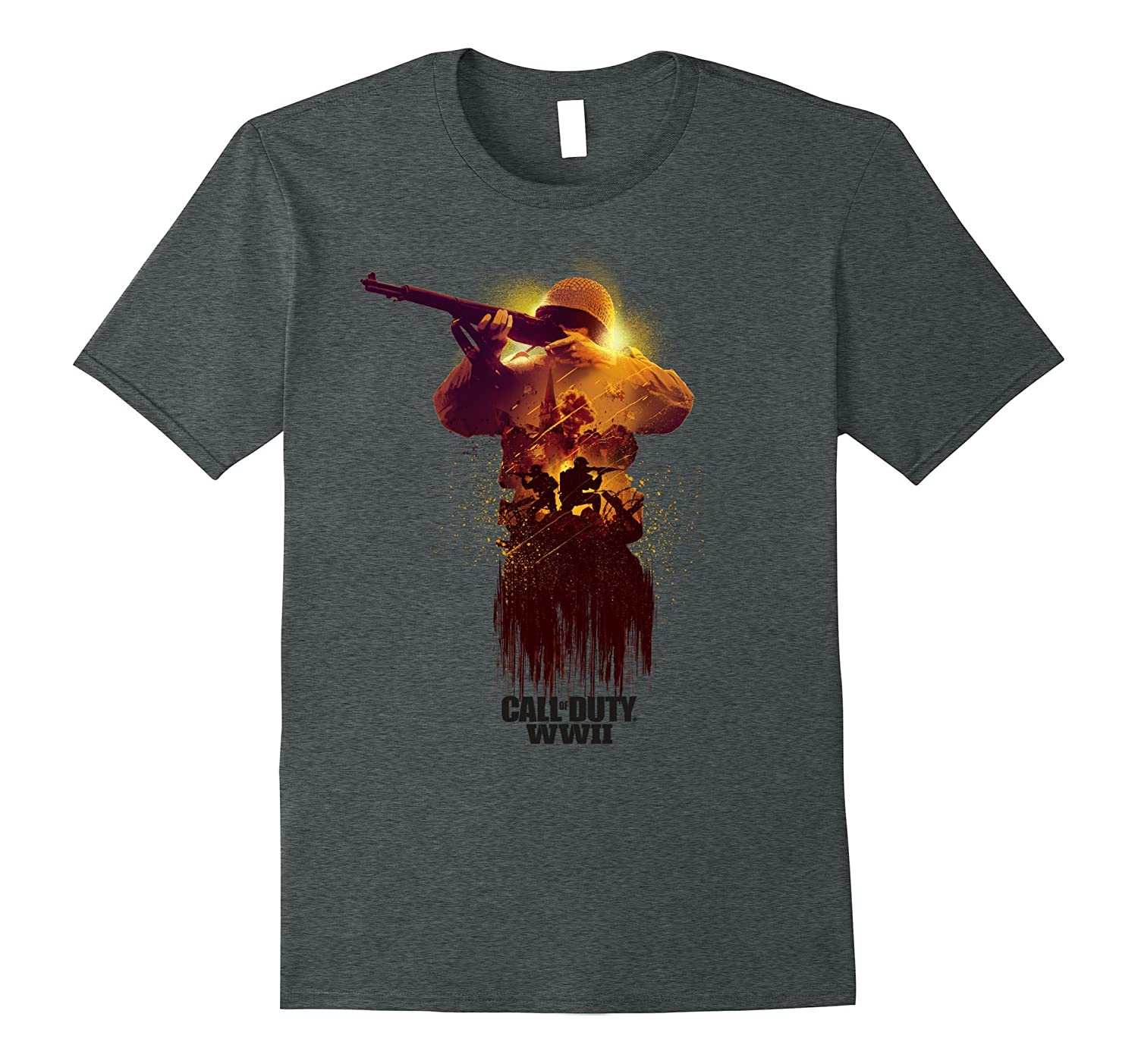 Call of Duty WWII - War Zone Front Line T-Shirt-RT