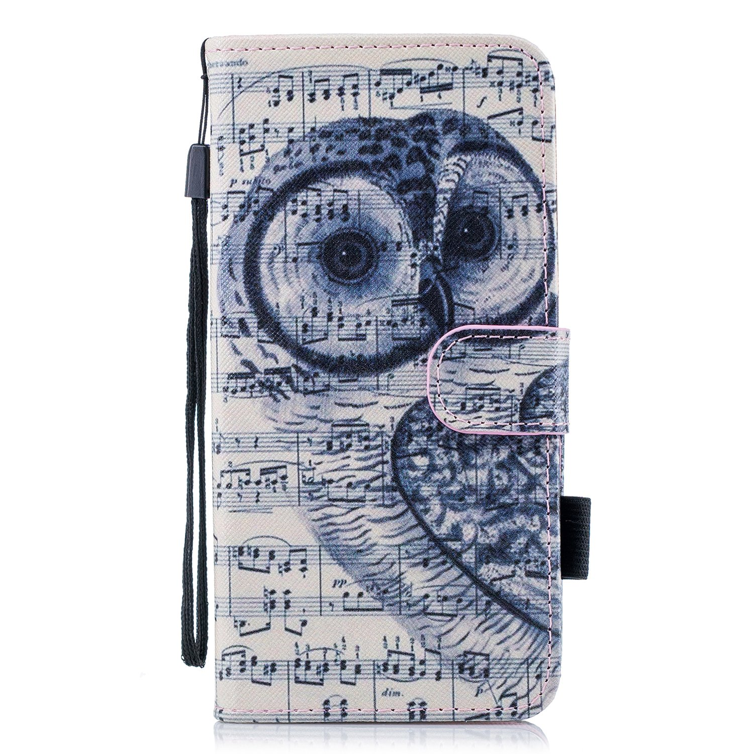 outlet Galaxy S9+ Case, For [S9 Plus] MerKuyom [Wrist Strap] [Kickstand] Premium PU Leather Wallet Pouch Flip Cover Case For Samsung Galaxy S9 Plus / S9+, W/ Stylus (Owl Music Sheet)