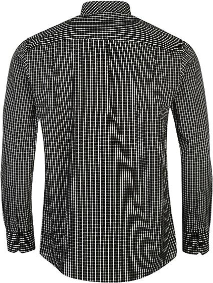 Pierre Cardin. Camisa de manga larga casual para hombre: Amazon.es: Ropa y accesorios