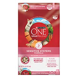 Purina ONE SmartBlend Natural Sensitive Systems Formula Dry Food for Adult Dog