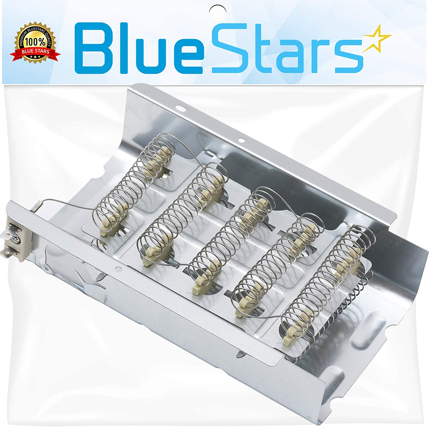 Ultra Durable 279838 Dryer Heating Element Replacement Part by Blue Stars – Exact Fit For Whirlpool Kenmore Maytag Dryers – Replaces 279837 8565582 3398064 3403585 AP3094254 PS3343130