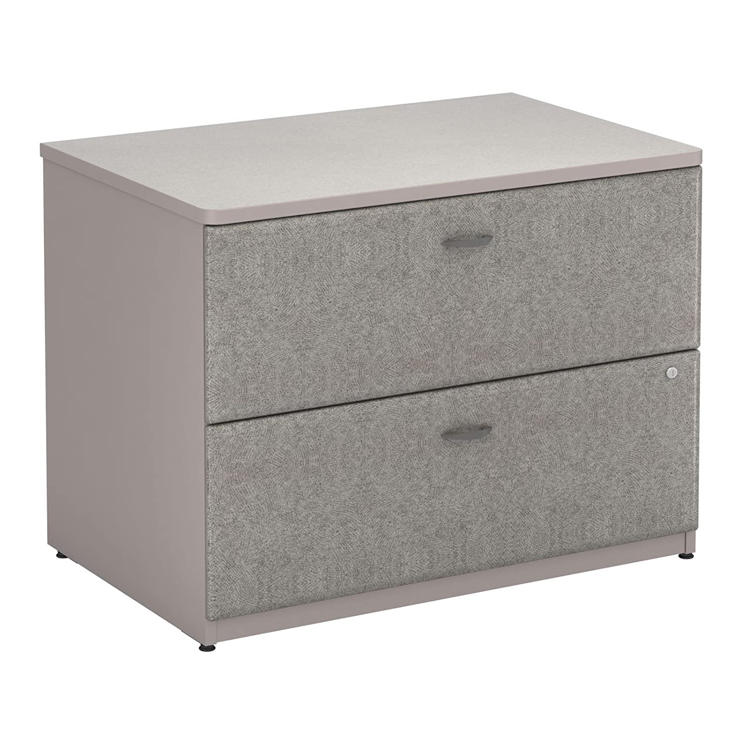 Bush Pewter Series A 36W 2-Drawer Lateral File