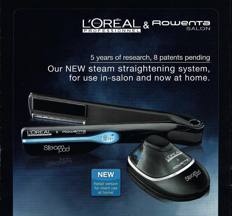 Amazon.com  L oreal Steam Pod Hair Straightener  Health   Personal Care 1bcbfca8194