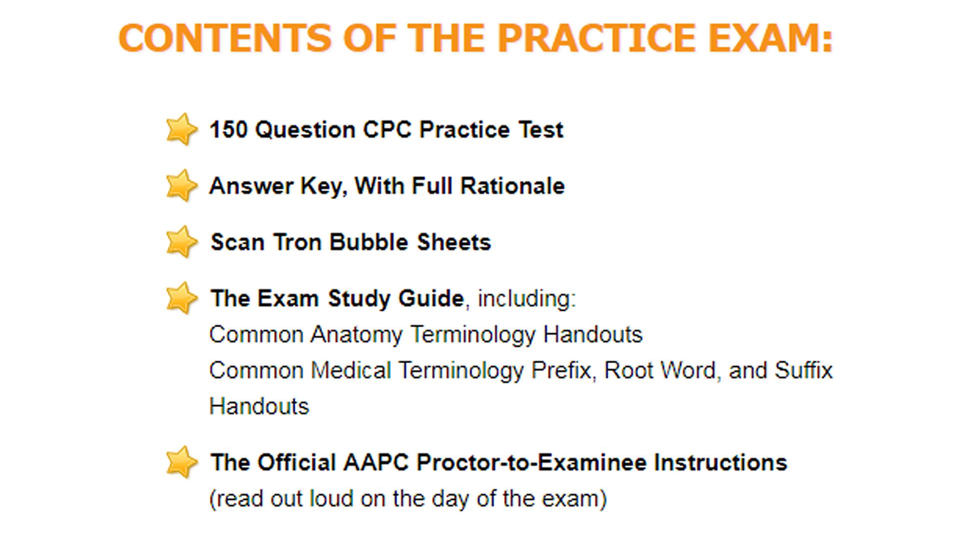 Amazon.com: Medical Coding Study Guide CPC Practice Exam:medical ...
