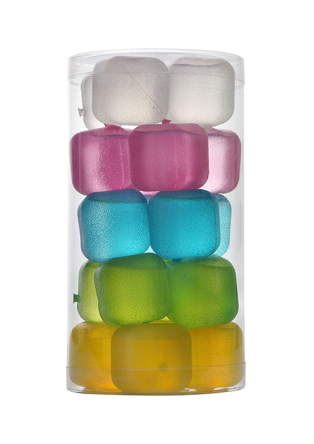 HOFA Reusable Frosted Plastic Ice Cubes(Plastic Pack of 20)