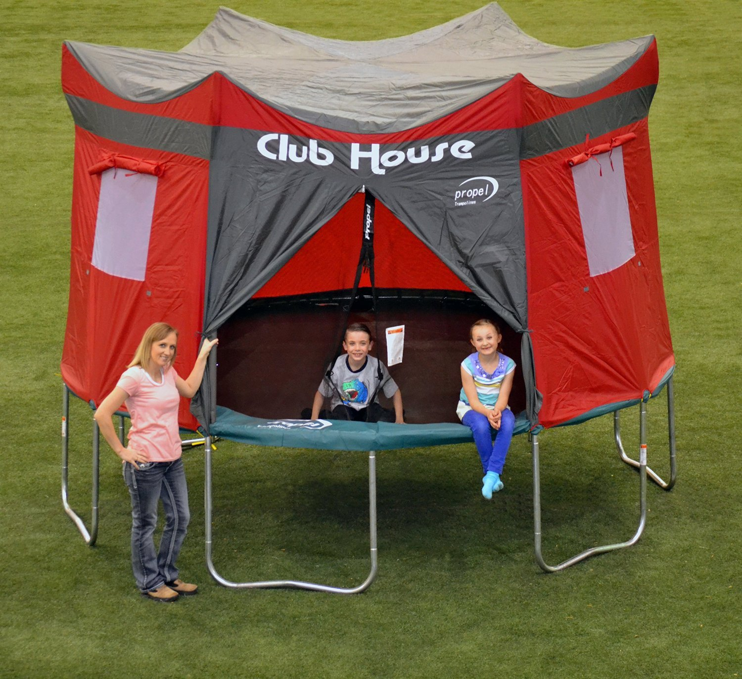 Clubhouse Tent Accessory Kit for Propel 12' Trampoline with 6 pole enclosure - TENT ONLY by Propel (Image #3)
