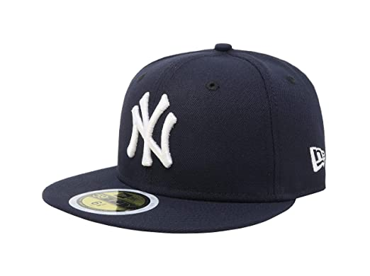 f5027865d3ac7 ON-FIELD COLLECTION Kids Youth Yankees 59Fifty Fitted Navy Hat Cap 17GM (6