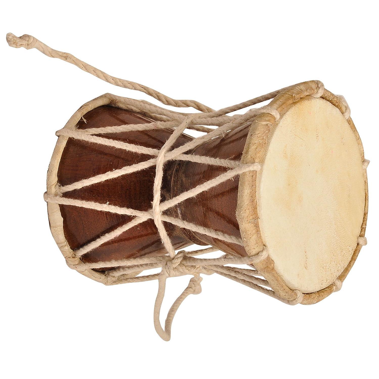 Damaru, Indian Music Instrument Percussion Hinduism ShalinCraft MN-damroo001