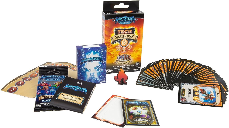 Lightseekers Trading Card Game Starter Deck, Tech