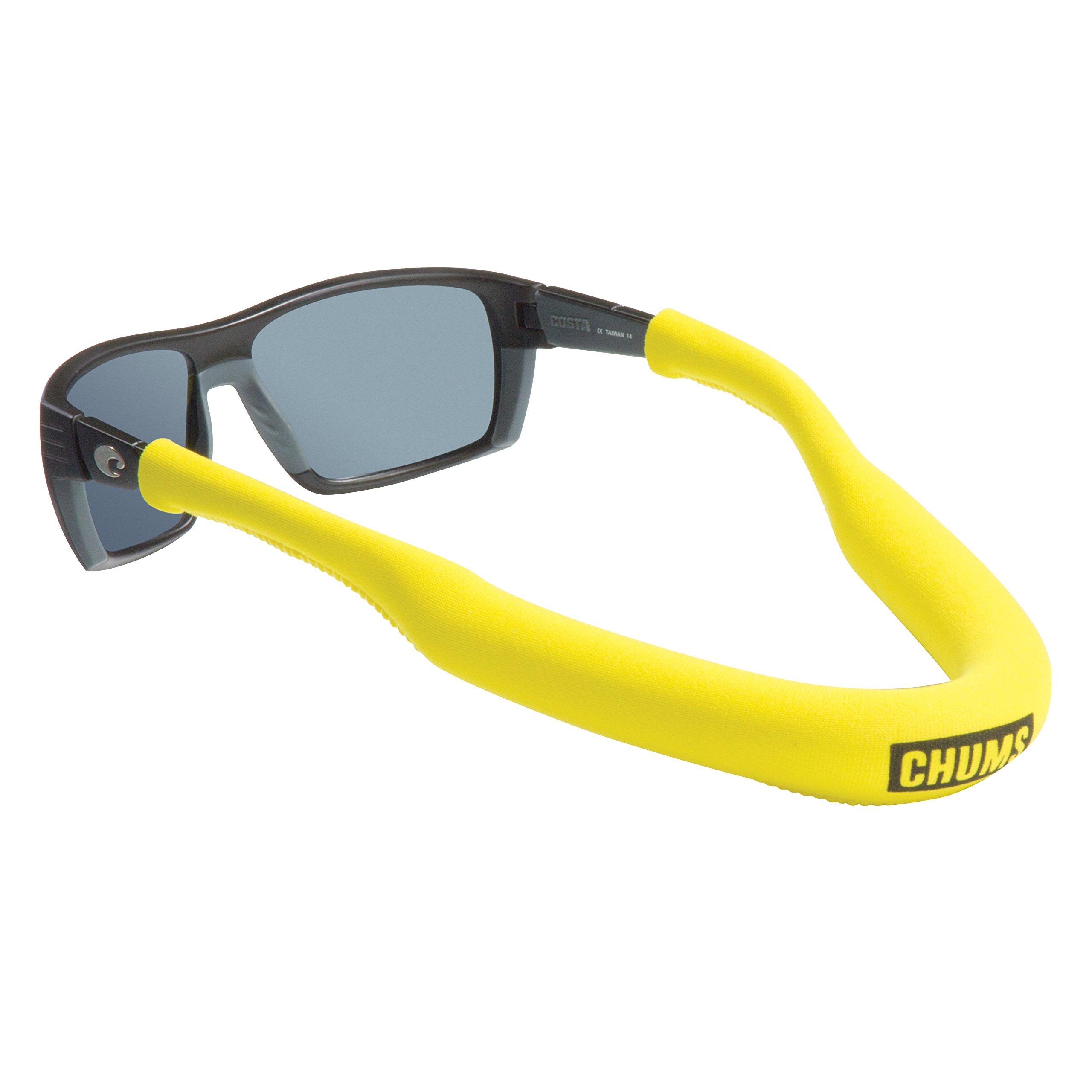 Chums Neo Megafloat Eyewear Eyewear Retainer, Yellow by Chums