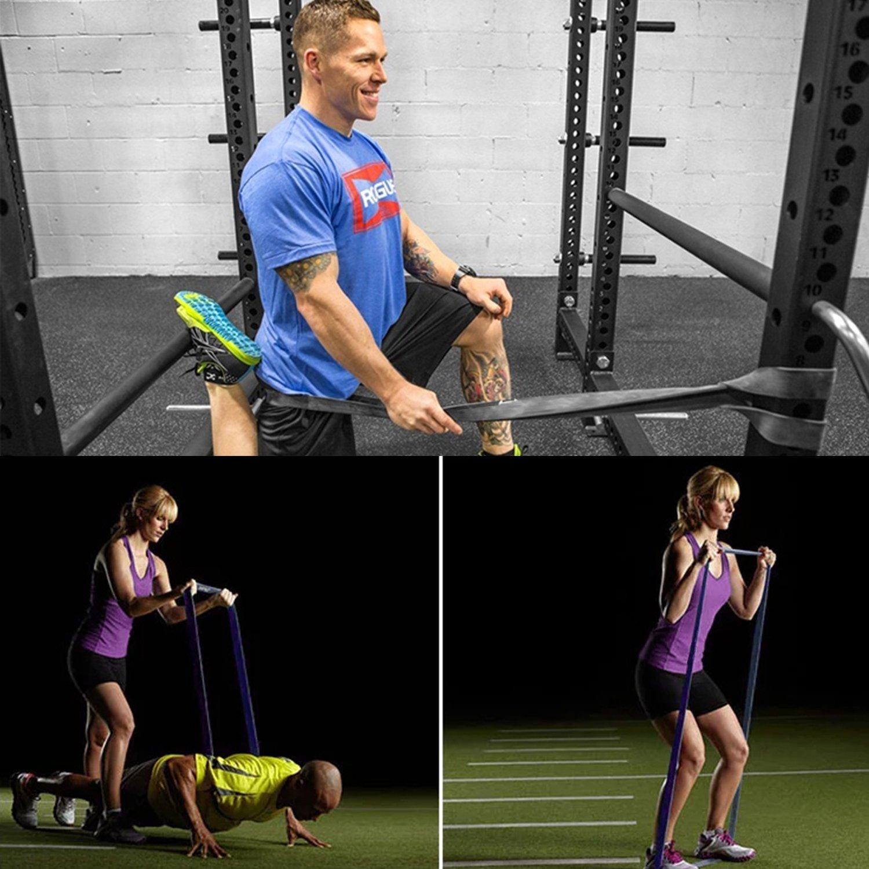 Aje bandas de resistencia látex Premium pull Up fitness bandas de ejercicio correa de entrenamiento ejercicio loop Crossfit bandas para fuerza entrenamiento ...