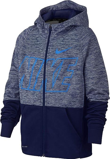 Nike Therma Garçon Capuche fit à Dri Veste POTwXZiku