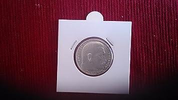 Silbermünze 2 Reichsmark 1938 B Drittes Reich Paul Von Hindenburg