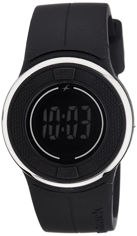 Fastrack Casual Digital Black Dial Women's Watch
