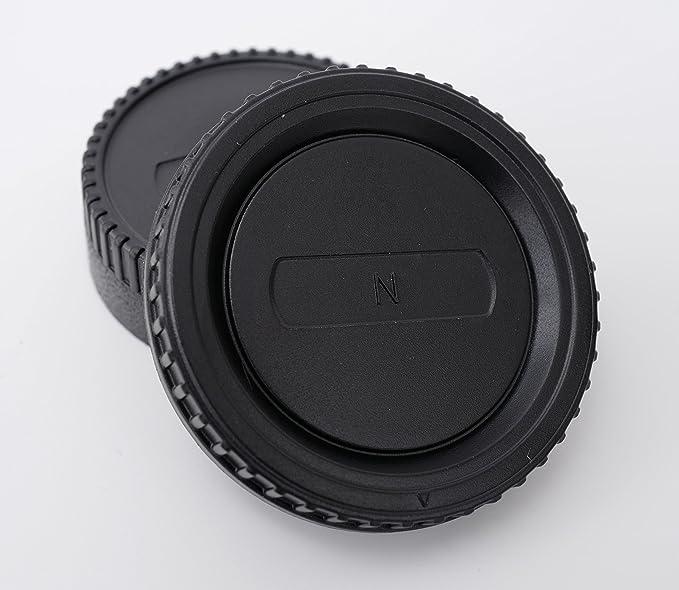 Carcasa Tapa • La cubierta posterior objetivamente • del cuerpo • trasera del lente para Nikon D7500 D5600 D3400 D5 D500 D810 D7200 D5500 D3300 D810 ...