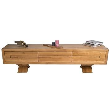 treesure lowboard s eiche massiv massivholzlowboard sideboard wohnwand kommode wohnzimmerschrank