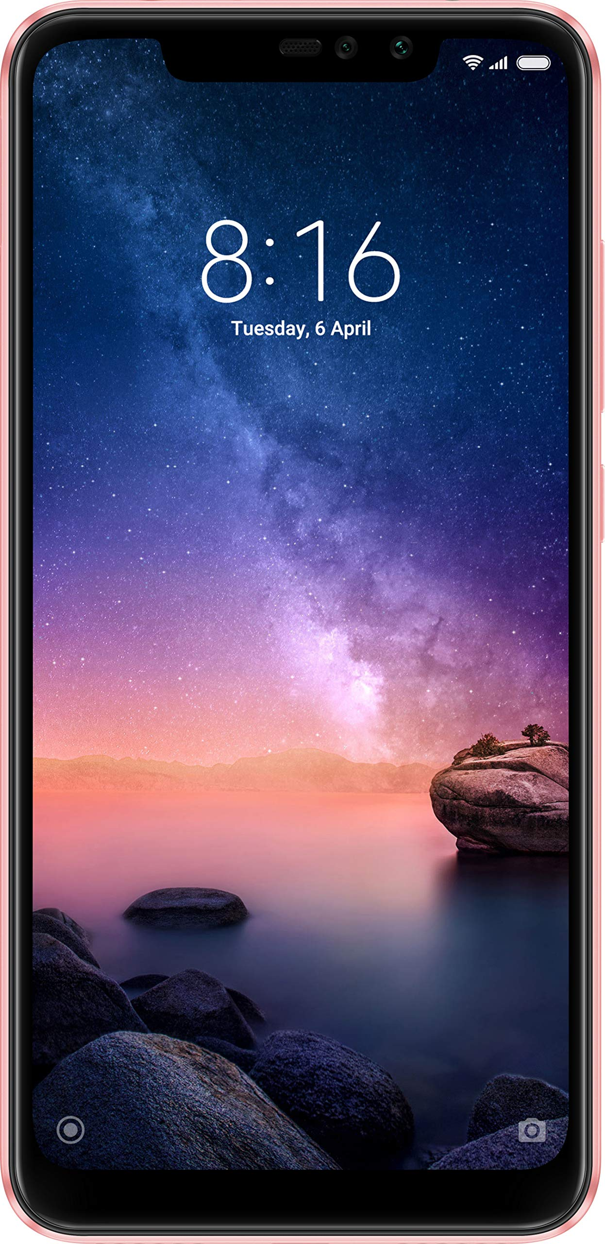 Redmi Note 6 Pro (Rose Gold, 64 GB)(6 GB RAM)