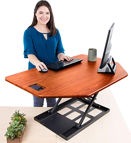 Stand Steady X-Elite Pro Corner Standing Desk