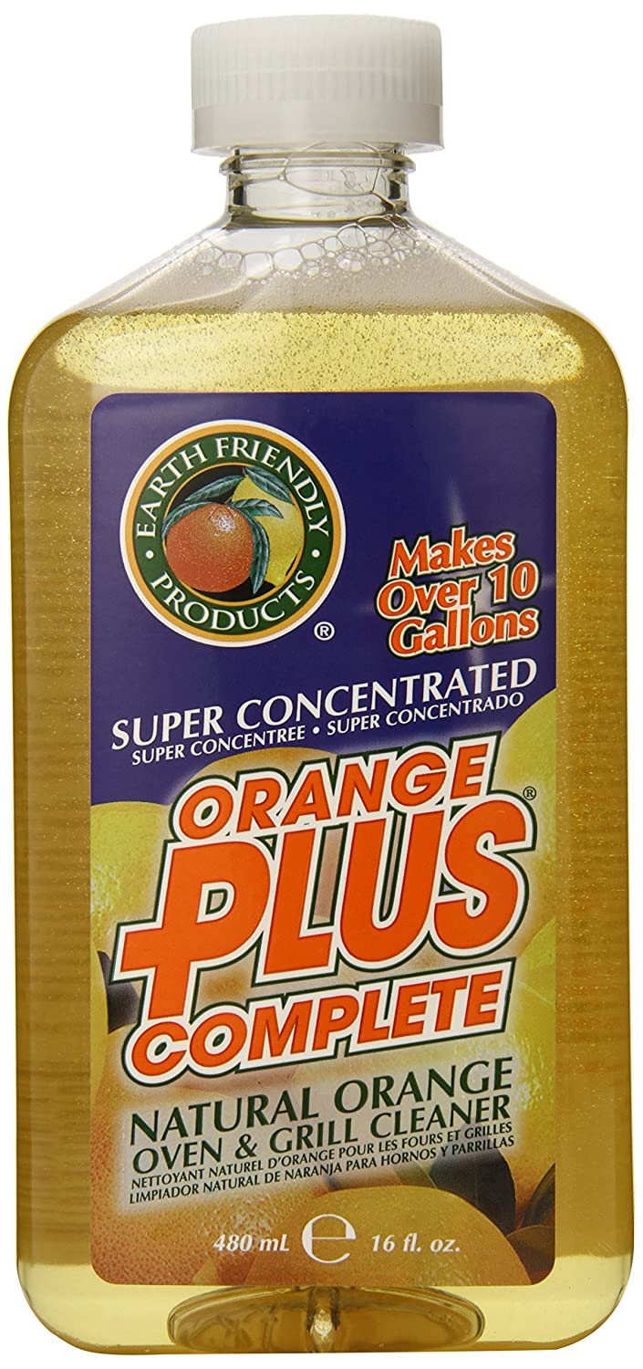 Earth Friendly Products Orange Plus Complete Oven & Grill Cleaner, 16 Ounces (Pack of 3)