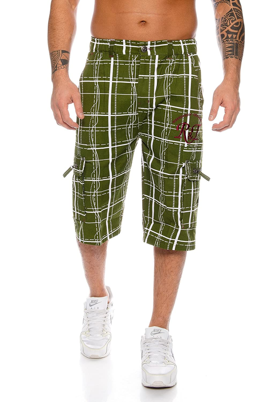 Raff&Taff - Pantalón Corto - para Hombre Verde XXXL