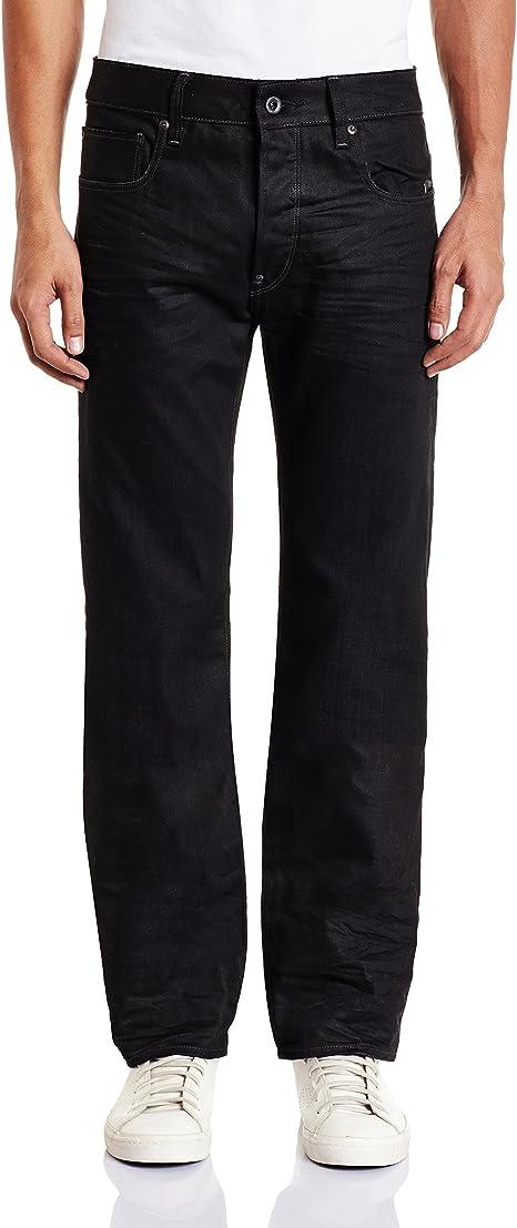 TALLA 27W / 32L. G-STAR RAW Attacc Straight Jeans para Hombre
