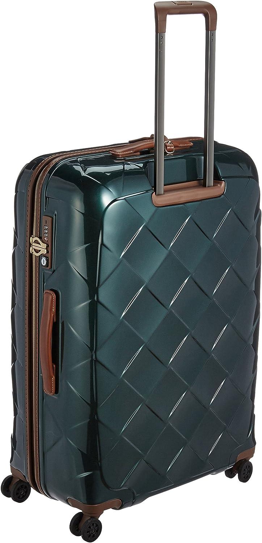 76 cm Bleu 100 liters Stratic Leather /& More Koffer L Bagage Cabine Blue