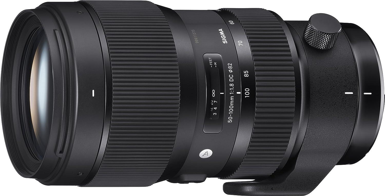 Sigma 50-100 Mm F/1.8 DC HSM Art Lens For Nikon DSLR Cameras (Black)
