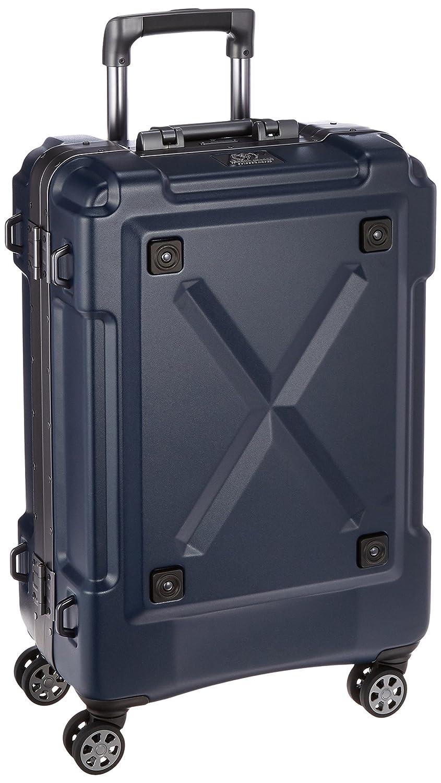 [レジェンドウォーカー] スーツケース フレーム OUTDOOR 双輪 背面収納スペース 6302-62 保証付 67L 69 cm 5.4kg B01LA5M376 マットネイビー