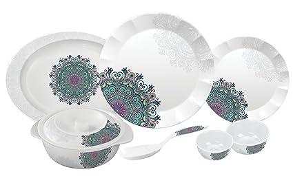 Servewell Ethnicity Dora Dinner Set 31-Pieces  sc 1 st  Amazon.in & Buy Servewell Ethnicity Dora Dinner Set 31-Pieces Online at Low ...