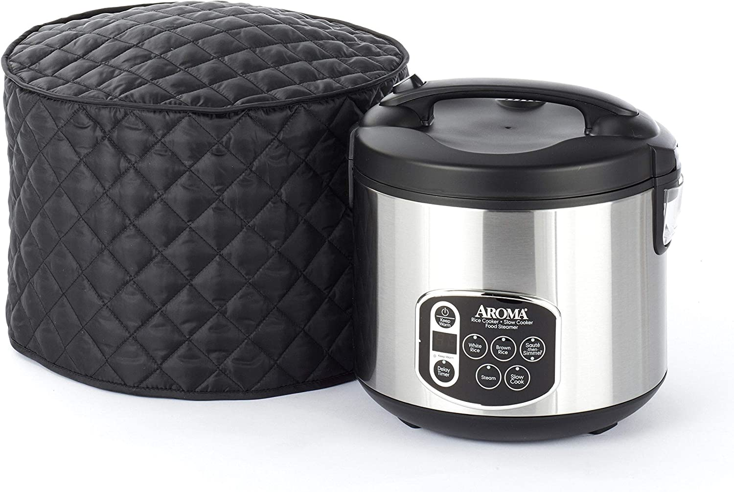 2 YR Warranty Year Around Protection Deep Fryer Cover CoverMates Black Diamond Collection 16W x 10D x 9H