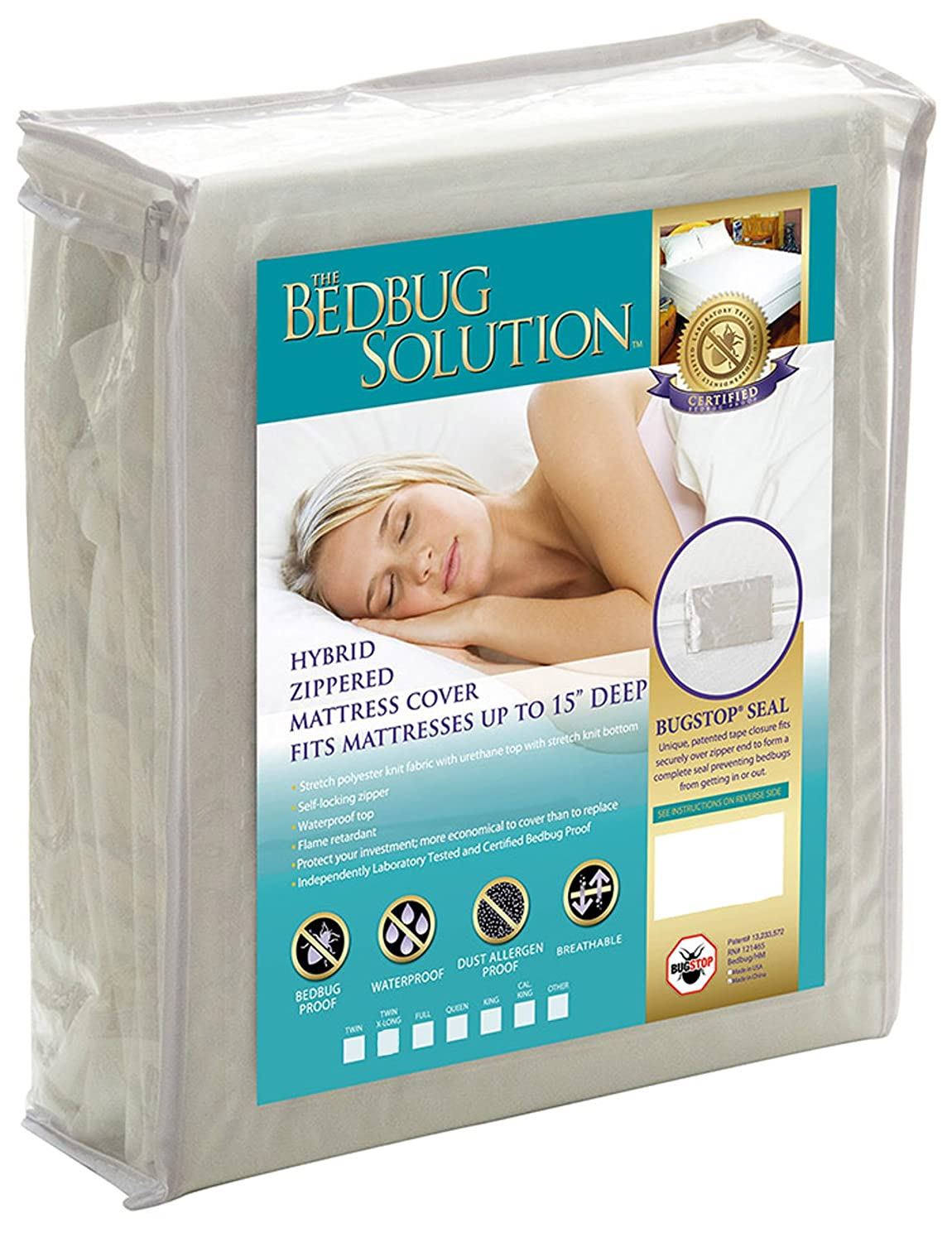 amazon com the allergy store bed bug solution hybrid stretch