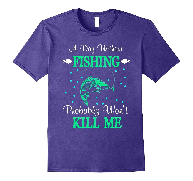 Fun Fishing Addict Men Women Youth Tee-FL