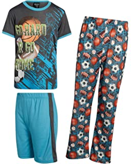 Quad Seven Boys All Net All Day 3-Piece Pajamas