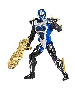 Power Rangers Super Ninja Steel Cockpit Mode Version 2 Action Figure, Blue Ranger