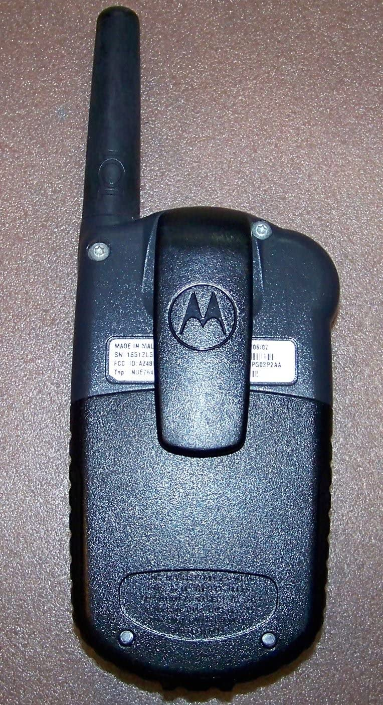 Motorola FRS Talkabout Radio Model 101 Yellow w//Belt Clip