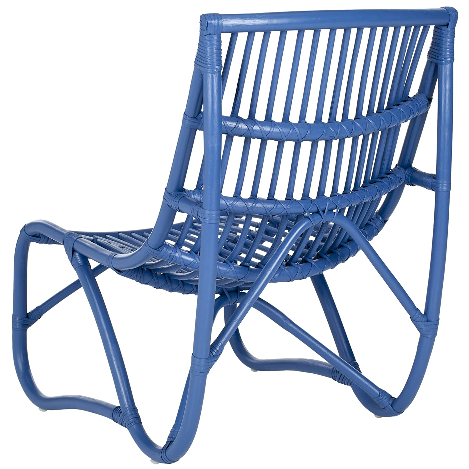 Amazon.com: Safavieh Home Collection Shenandoah Chair, Blue: Kitchen U0026  Dining