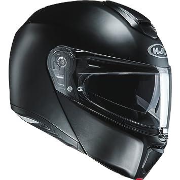Casco Moto Hjc Rpha 90 Semi Flat Negro (Xl , Negro)