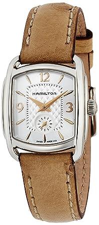 11057b06df [ハミルトン]HAMILTON 腕時計 Bagley(バグリー) オーストリッチ H12351855 レディース 正規保証【正規