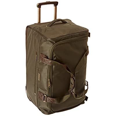 Tommy Bahama Surge 24 Inch Wheeled Duffle, Olive/Brown, One Size