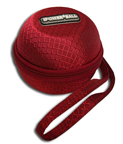 Powerball Zipped Protective Carry Case and Strap (Choose Red or Black)