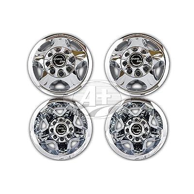 "17\"" ABS Chrome Plated Wheel Simulator Set for Chevy GMC Silverado 3500 2008~2010: Automotive [5Bkhe1402303]"