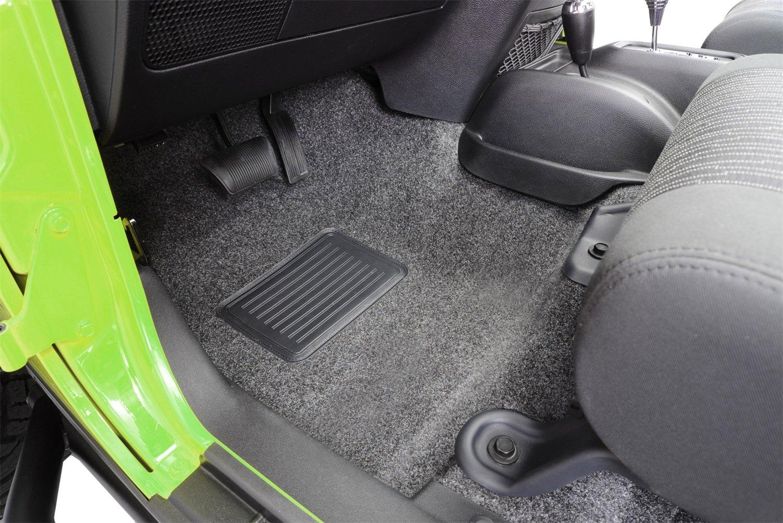 BedRug CBRJK114 fits 2011+JK Unlimited 4 Dr BedRug Jeep Combo Kit Includes Front and Cargo Kit