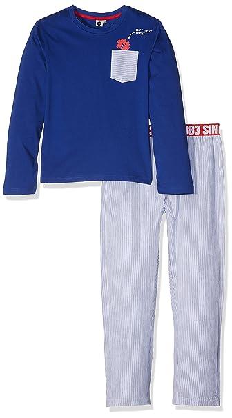 Z Pyjama Long, Conjuntos de Pijama para Niños, Azul (Bleu ROI 45)
