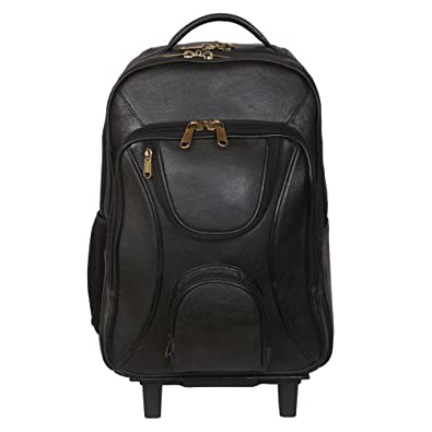 C Comfort Laptop Trolley Backpack Black Laptop Backpacks